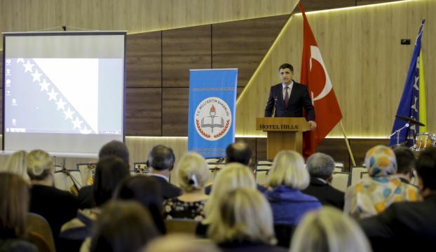 Türkiyedeki eğitim sistemi Bosna Hersekte anlatıldı