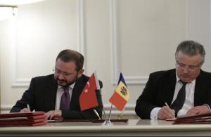 Türkiye ile Moldova arasında işbirliği anlaşmaları