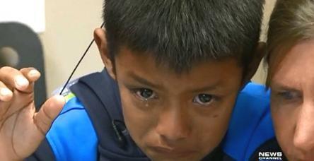 Dünyayı ağlatan çocuk