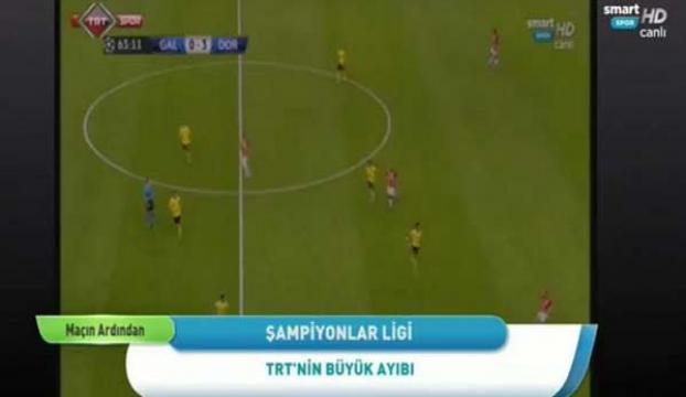 Skandal sonrası TRTden açıklama