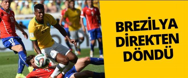 Brezilya'yı penaltılar kurtardı