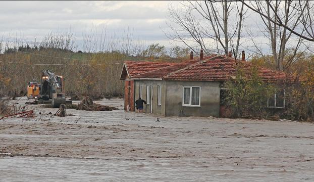 Edirne 1953ten bu yana en yoğun yağışı aldı