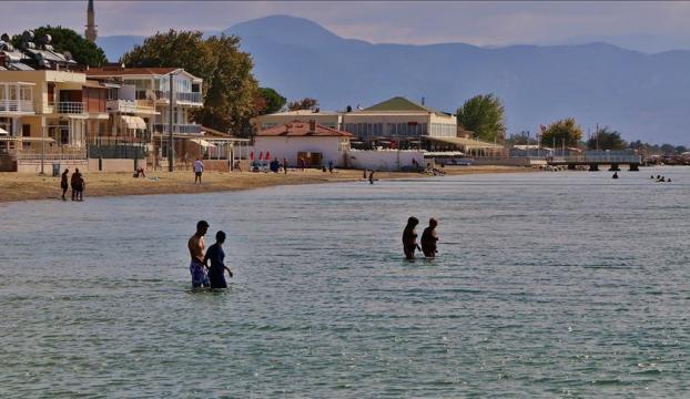 Edremit Körfezinde deniz sezonu açıldı