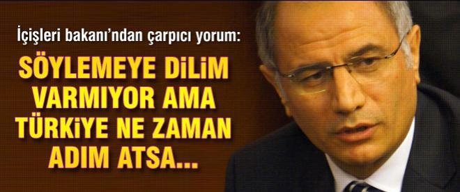 Efkan Ala: 'Türkiye ne zaman adım atsa...'