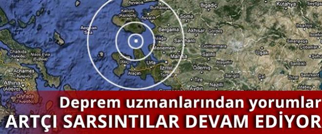 Ege Denizi'ndeki depremin ardından artçılar devam ediyor