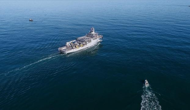Yunanistana ait savaş uçaklarından uluslararası sularda araştırma yapan TCG Çeşme gemisine taciz
