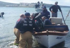 Ege'de denizinde eğitim uçağı düştü, 2 pilot kurtarıldı