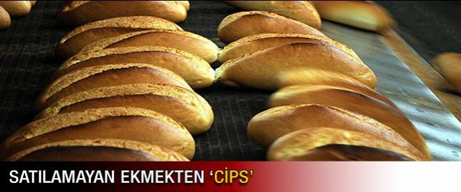 """Satılamayan ekmekten """"cips"""""""