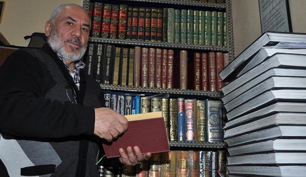 50 yıldır okuduğu kitaplardan 7 bin sayfa not tuttu