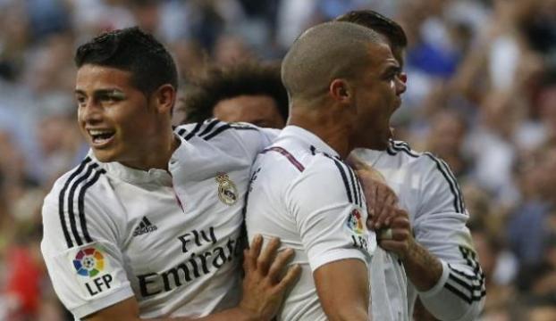 El Clasicoda Zafer Real Madridin