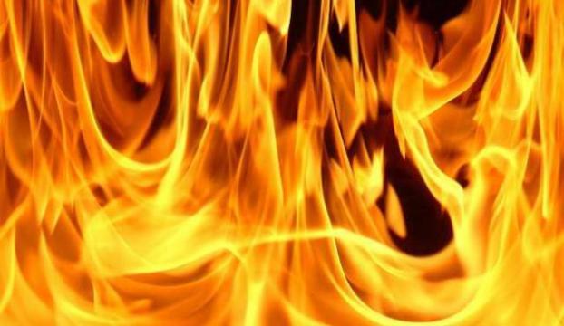 Düzcede ev yangını