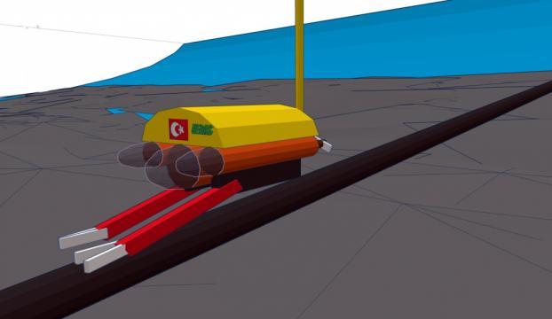 Deniz altı elektrik arızalarına yerli robot!