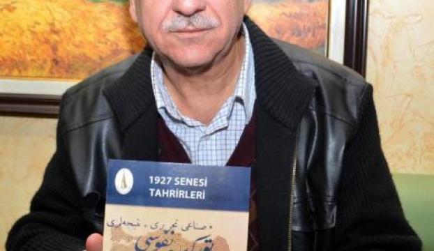 Emekli öğretmenden Osmanlıca imla klavuzu