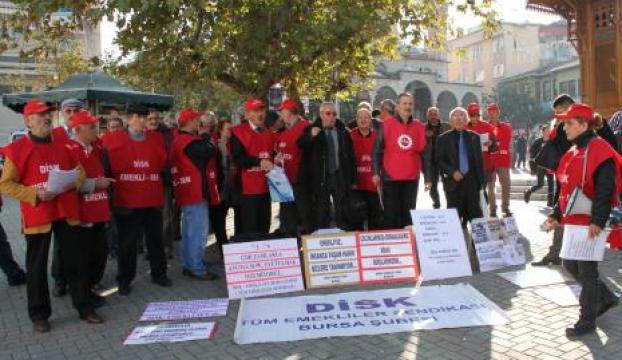 Doğalgaz ve elektrik zamlarına protesto