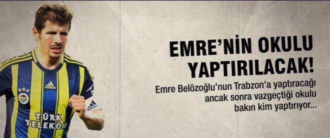 Emre Belözoğlu vazgeçti ama...