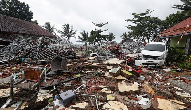 Endonezyadaki tsunamide ölü sayısı 429a çıktı