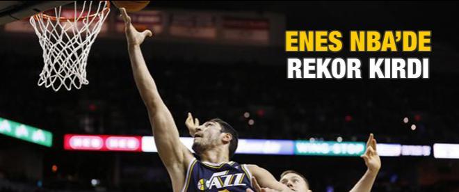 Enes NBA'de rekor kırdı