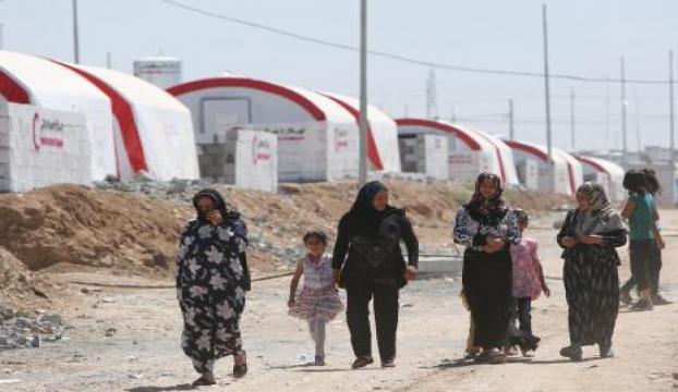 Reyhanlıda bin kişilik çadır kent hazırlanıyor