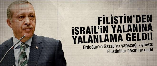 """Gazzeliler: """"Erdoğan'ın ziyaretinden memnun kalacak"""""""