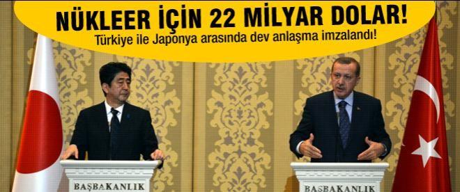 Türkiye ile Japonya arasında dev nükleer anlaşması!