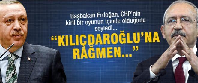 """Erdoğan: """"Kılıçdaroğlu'na rağmen..."""""""