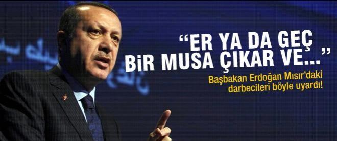 """Erdoğan: """"Er ya da geç bir Musa çıkar..."""""""