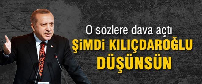 Erdoğan'dan Kılıçdaroğlu'na 100 bin liralık 'Dikizci' davası