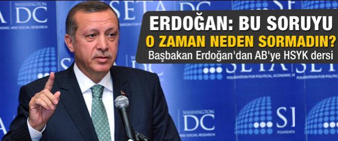 Erdoğan AB Konseyi'nde konuştu