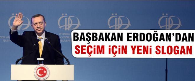 Erdoğan Özel Halk Otobüsçüleri ile buluştu