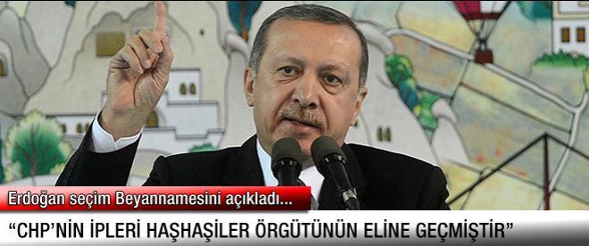 Erdoğan seçim beyannamesini açıkladı.