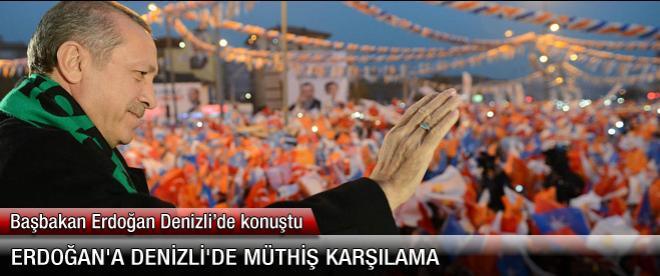 Erdoğan Denizli'de: Rabbim sen ne büyüksün