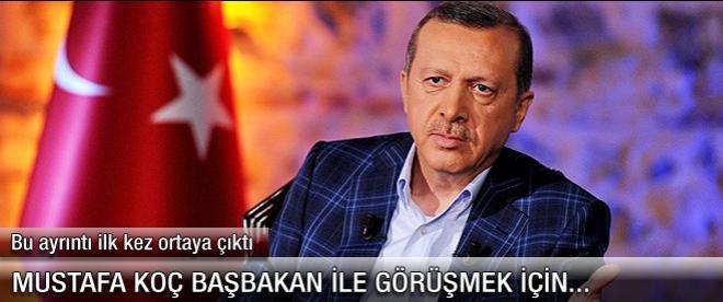 Mustafa Koç Erdoğan'dan randevu alabilmek için...