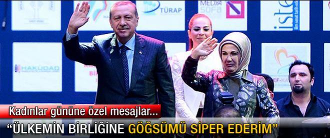 Başbakan Erdoğan: Ülkemin birliğine göğsümü siper ederim
