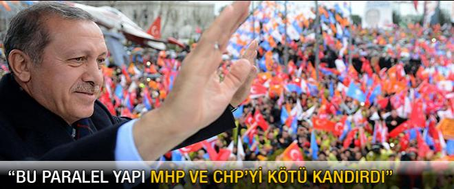 Erdoğan: Bu paralel yapı MHP ve CHP'yi kötü kandırdı