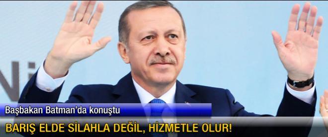 Başbakan Erdoğan Batman'da konuştu
