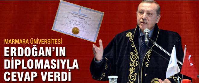 Erdoğan'ın diplomasıyla cevap verdi
