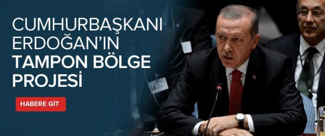 Erdoğan'ın tampon bölge projesi