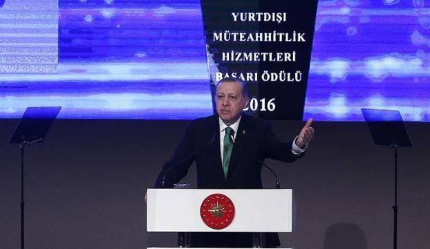 Erdoğan: Siyaset eğer dürüst yapılırsa, millet sizi bir yerlere getirir