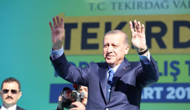Erdoğan: Şehitlerimizin kanını yerde bırakmayacağız