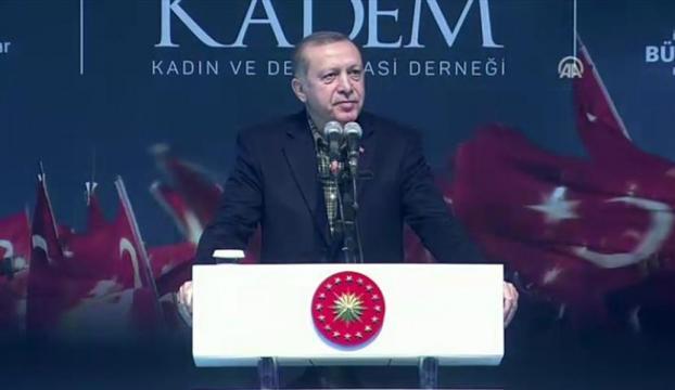 Erdoğan: Almanyanın uygulamaları geçmişteki Naziden farklı değil
