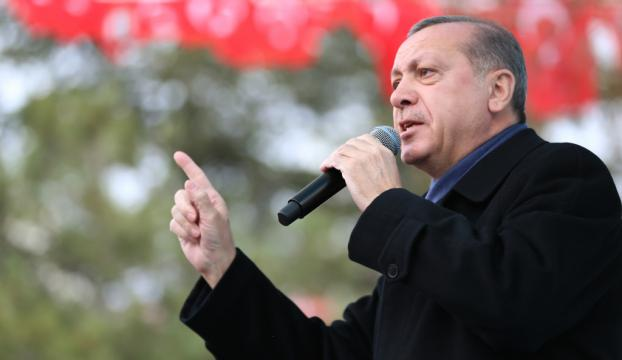 Erdoğan: Bundan sonra bizim de uçuş yasağımız var