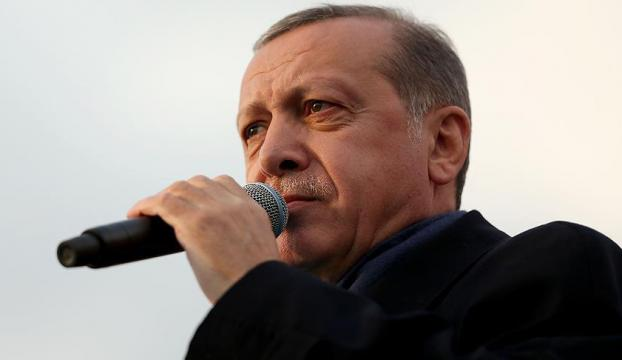 Erdoğan: Ülkenin birliğini bozanlara tarihi bir ders veriyoruz
