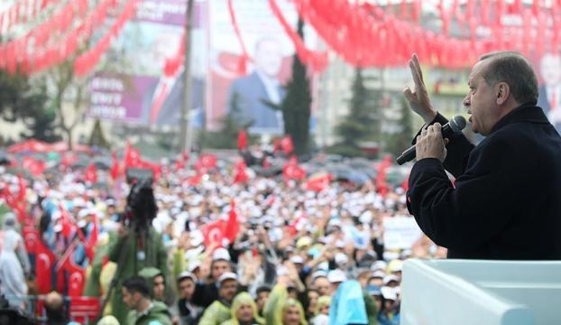 Erdoğan: Ne PYDyi ne YPGyi sınırlarımızda asla barındırmayız