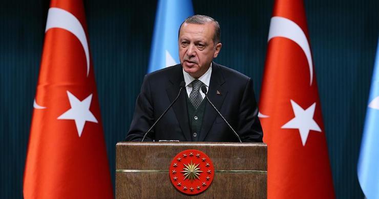 Erdoğan: Batı, insani trajediler karşısında üç maymunu oynuyor