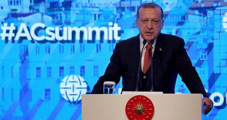 Erdoğan Atlantik Konseyi İstanbul Zirvesinde konuştu