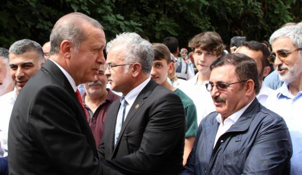 Cumhurbaşkanı Erdoğan Rizede