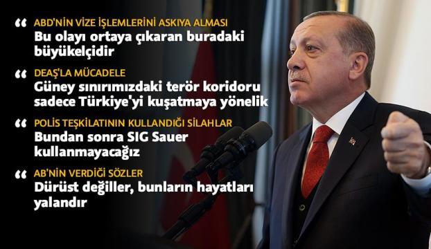 Cumhurbaşkanı Erdoğan: ABDyi Ankaradaki büyükelçi yönetiyorsa yazıklar olsun