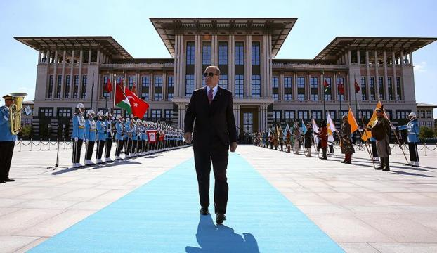 Erdoğanın yeminiyle yeni sistem resmen başladı