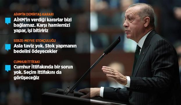 Cumhurbaşkanı Erdoğan: AİHMin verdiği kararlar bizi bağlamaz