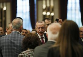 Cumhurbaşkanı Erdoğan Muhtarlar Toplantısında